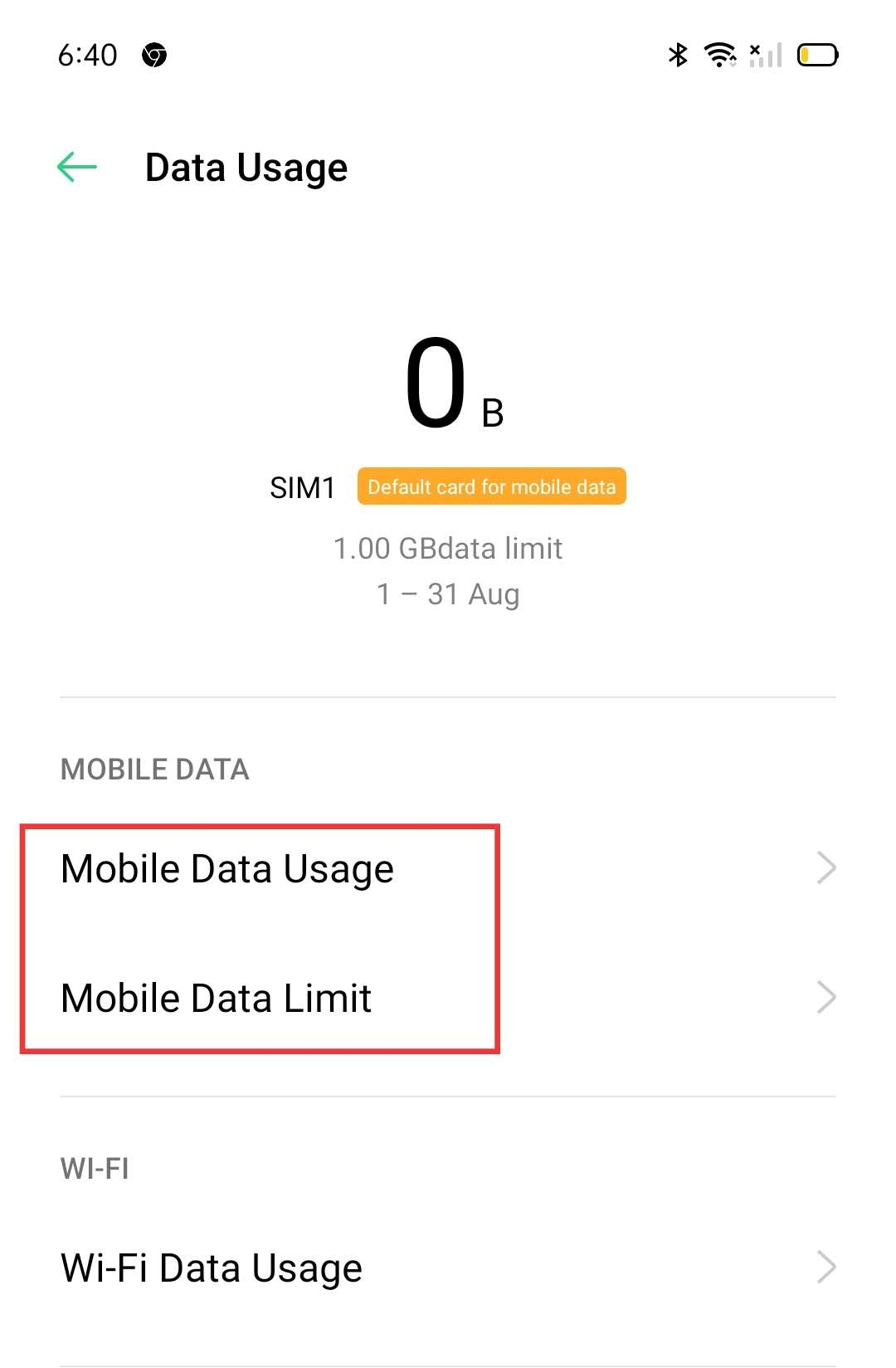 How to Check My Mobile Data Usage? | OPPO Global