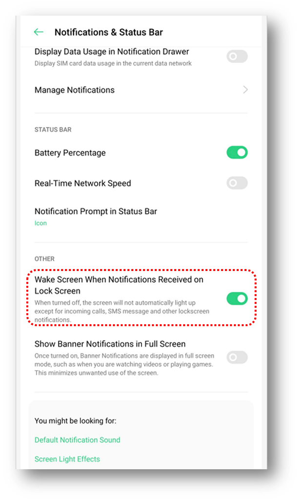 Show Notification On Lock Screen On Your Oppo Phone Oppo India