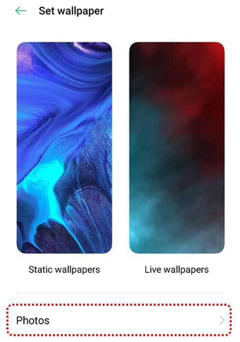 How To Change Oppo Phone S Theme And Lock Screen Wallpaper Oppo Australia